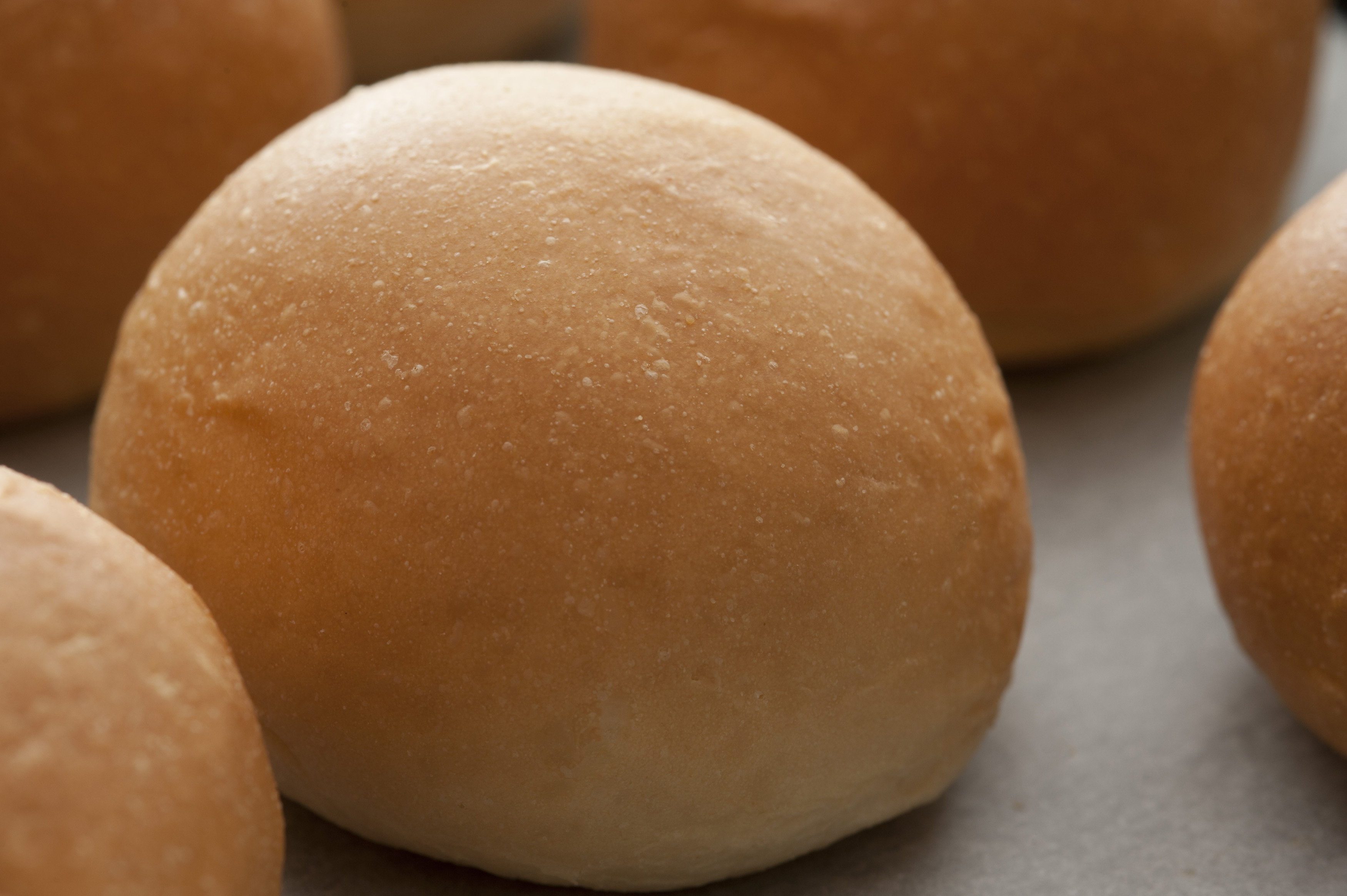 a single round bread roll