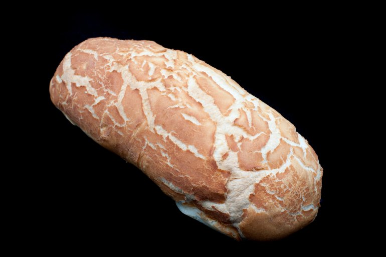 Crusty Loaf Of White Bread Free Stock Image