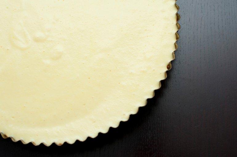 Plain Baked Cheesecake Free Stock Image
