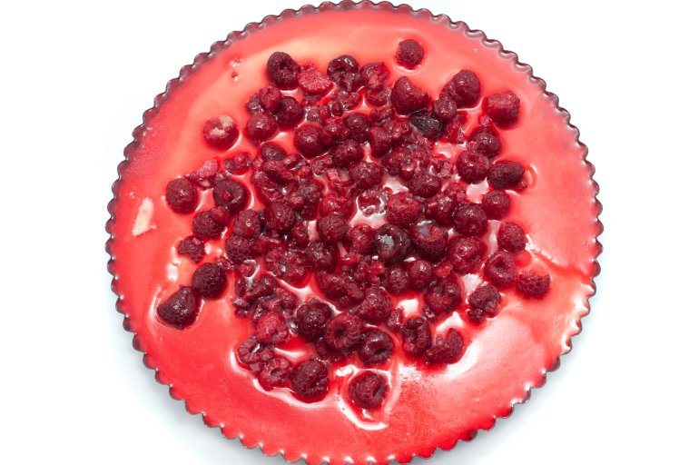 Raspberry Topping For Angel Food Cake