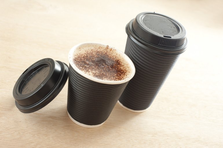 custom paper cups for coffee