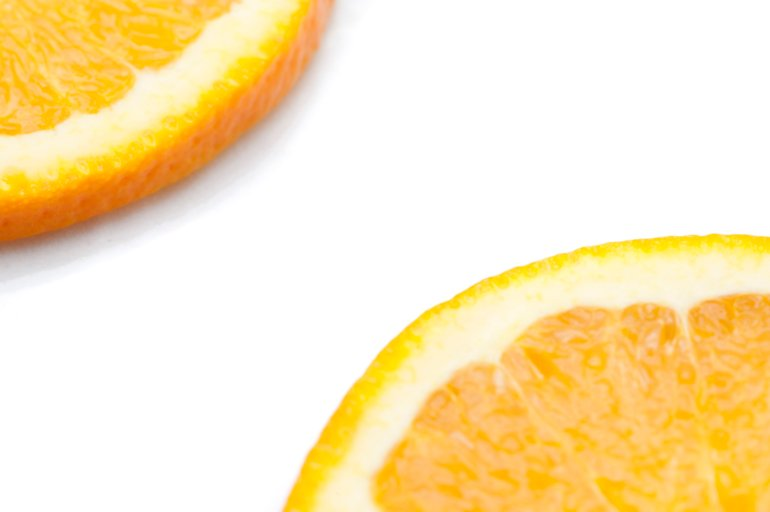 Slices Of Orange Citrus Fruit Free Stock Image