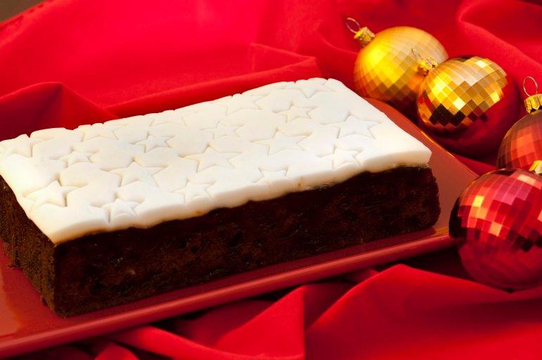Christmas Cake Free Stock Image
