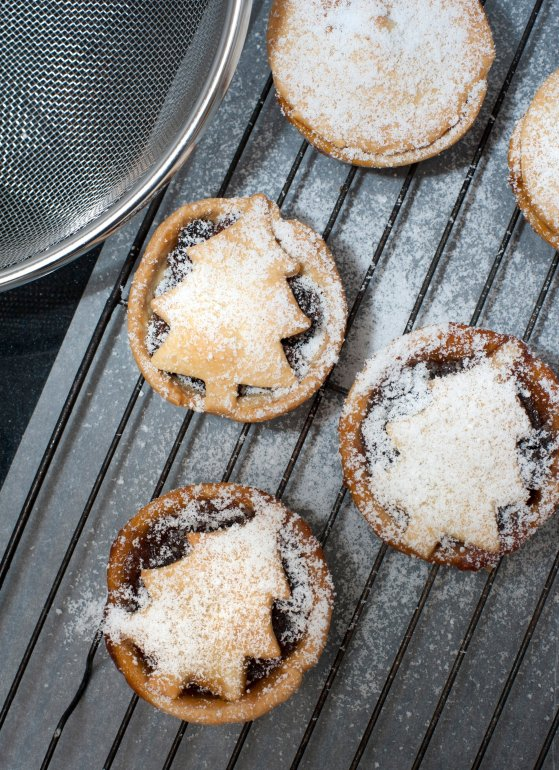 Christmas Mince Pies Free Stock Image